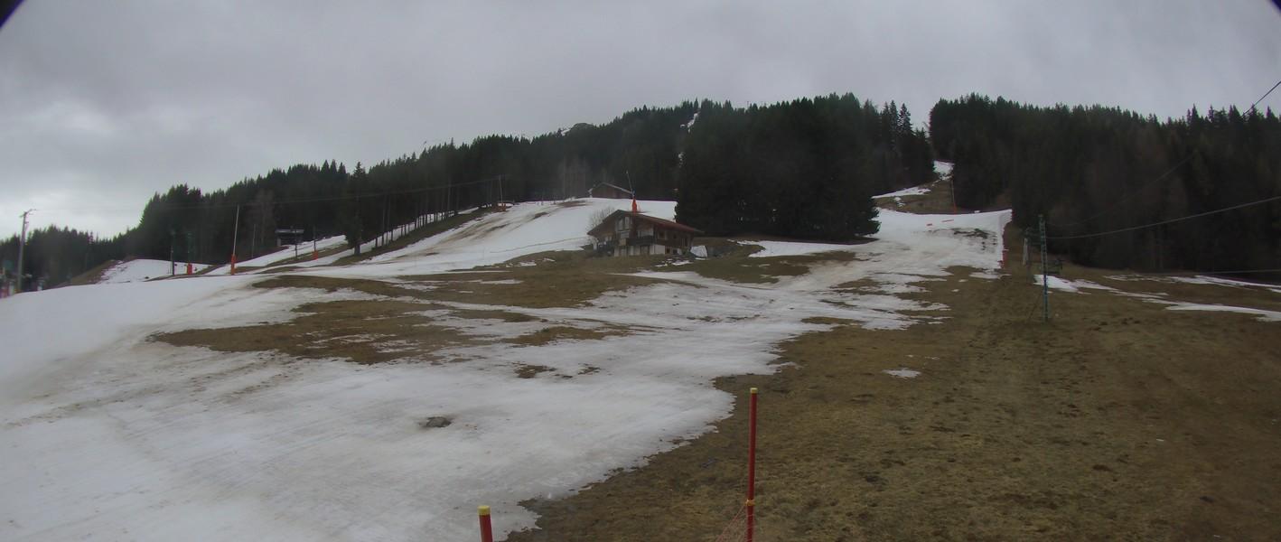 St Gervais - Plateau de la Croix Webcam